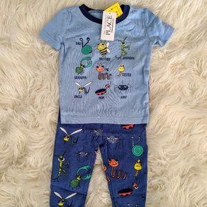 NWT 9m bug pajamas